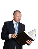 Man in a business suit Royalty Free Stock Image