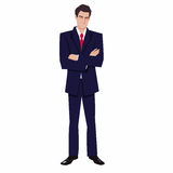 Man in a business suit Royalty Free Stock Images