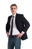Man in business suit Stock Photos