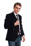 Man in business suit Royalty Free Stock Image