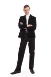 Man in business suit Stock Image
