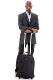 Man on a business trip Royalty Free Stock Photography