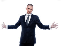 Man Businessman Portrait Cheerful smile Stock Image