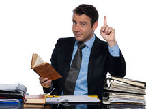 Man businessman professor  working Royalty Free Stock Photo