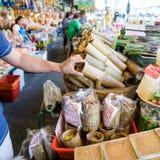 Man buying in food Royalty Free Stock Photo