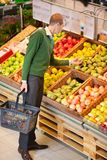 Man Buying Fruit Royalty Free Stock Image
