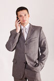Man calling on phone Royalty Free Stock Photos