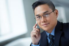 Man calling Royalty Free Stock Images