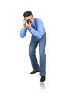 Man with camera Royalty Free Stock Photo