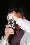 Man camera Royalty Free Stock Images