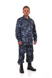 Man in camouflage Stock Photos