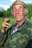 A man in camouflage Stock Image