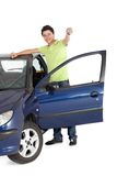 Man with a car Stock Photos