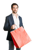 Man Carrying Shopping Bags Royalty Free Stock Photo