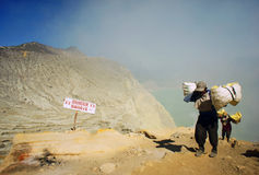 KAWAH IJEN Stock Photos