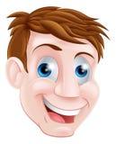 Man cartoon face Stock Photography