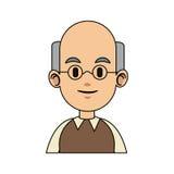 Man cartoon icon Royalty Free Stock Images