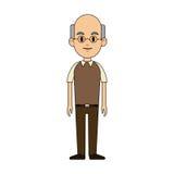 Man cartoon icon Royalty Free Stock Photos