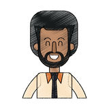 Man cartoon icon Royalty Free Stock Photography