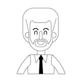 Man cartoon icon Stock Photo