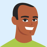 Man cartoon portrait Royalty Free Stock Images
