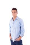 Man in casual clothes Stock Photos