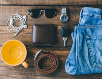 Man Casual Outfit Stock Images
