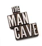 Man Cave Royalty Free Stock Image