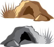 Man Cave vector Royalty Free Stock Photography