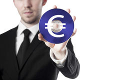 Man cd euro Stock Images