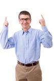 Man celebrating Stock Photo