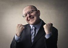 Man celebrating Stock Photos