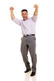 Man celebrating success Royalty Free Stock Photo