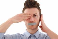 Man censored Stock Photos