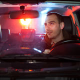 Man chaced and pulled over Stock Images