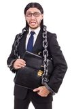 Man with chain Royalty Free Stock Photography