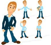 Man character 02 Royalty Free Stock Image