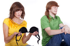 Man cheat Stock Images