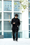 Man checking phone Royalty Free Stock Photo