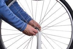 Bike Wheel Royalty Free Stock Photography