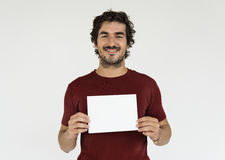 Man Cheerful Smiling Portrait Concept Stock Photos