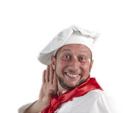 Man chef stock photography