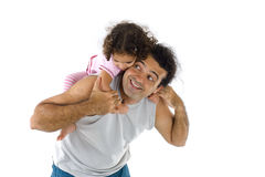 Man and Child Stock Photos