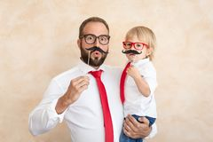 Father`s Day International Holiday Concept stock photography