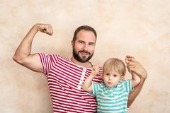 Father`s Day International Holiday Concept stock photo
