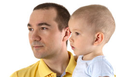 Man and child Stock Photo