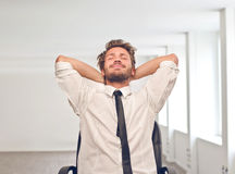 Relaxed man Royalty Free Stock Images