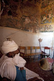 Man in a church, Ethiopia Royalty Free Stock Photography