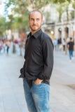 Man at the city Stock Photos