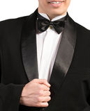 Man in classical Tuxedo Stock Images